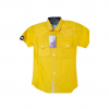 short sleeve double pocket shirts for kids