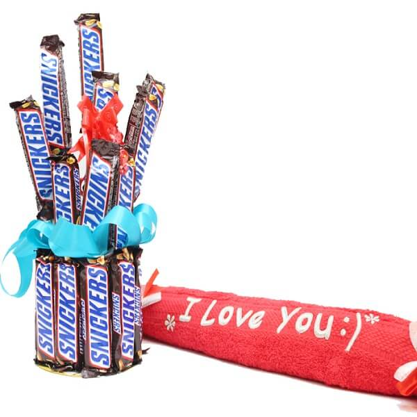 Snickers Chocolates gift box - Foriorder